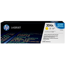HP CC532A 304A Yellow LaserJet Toner Cartridge